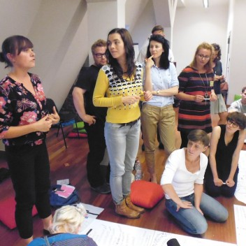 POSZERZANIE POLA WIDZENIA, prowadzenie: Agata Tecl-Szubert i Martyna Tecl-Reibel, 14.09.2014