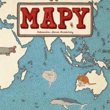 """Poznawanie świata z """"Mapami"""" – książką Mizielińskich"""